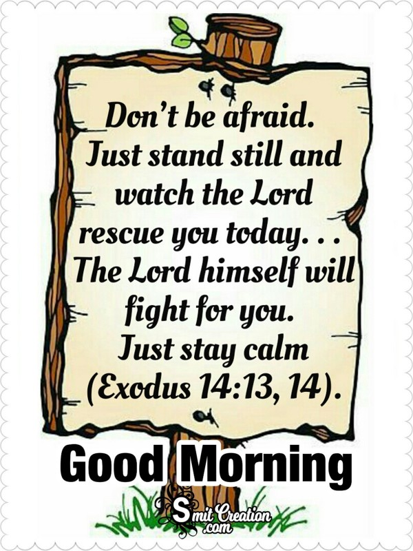 Good Morning Bible Blessings