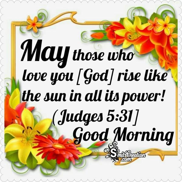 Good Morning Love Of God