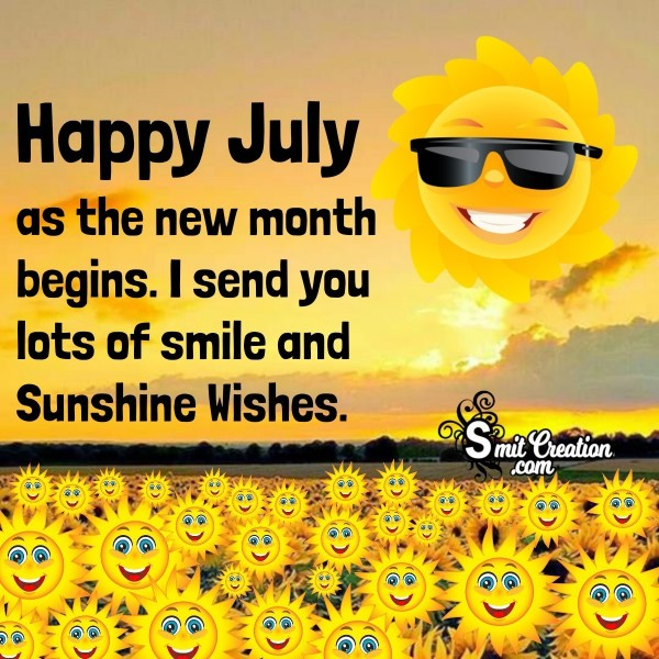 Happy July Wishes