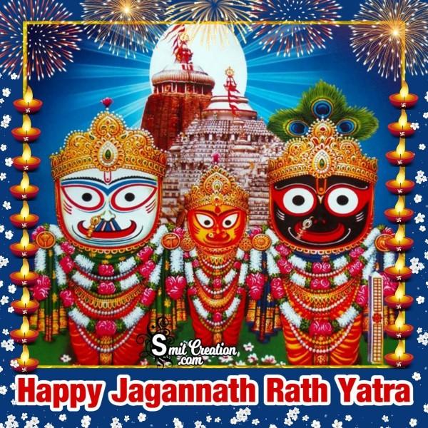 Happy Jagannath Rath Yatra Image