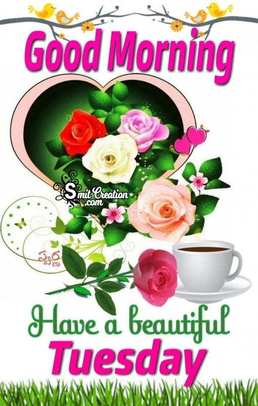 Good Morning Beautiful Tuesday