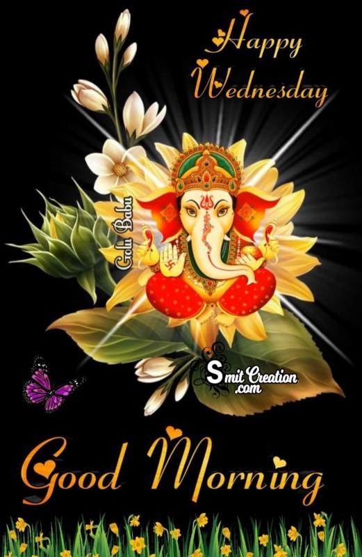 Happy Wednesday Ganesha Photo