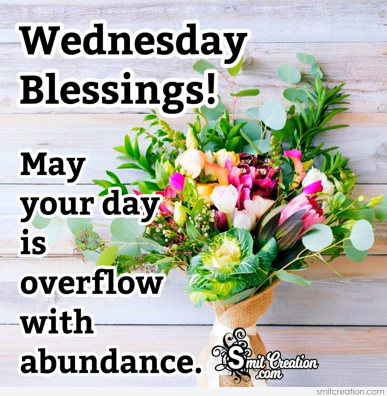 Wednesday Blessing Wish - SmitCreation.com