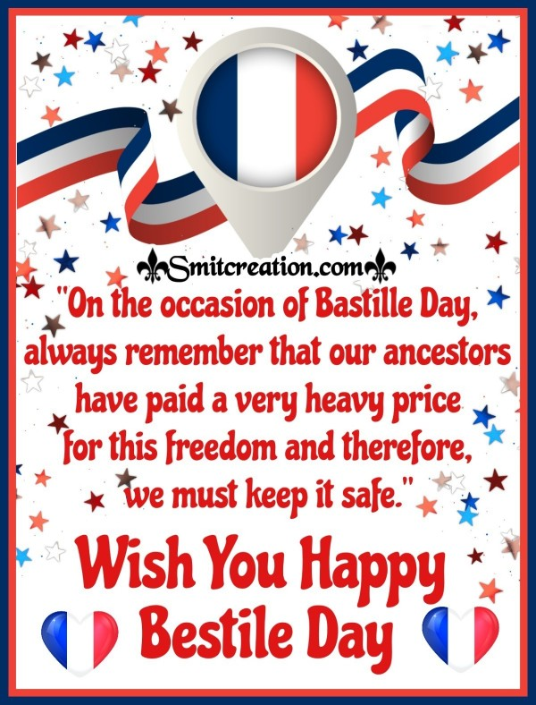 Wish You Happy Bestile Day