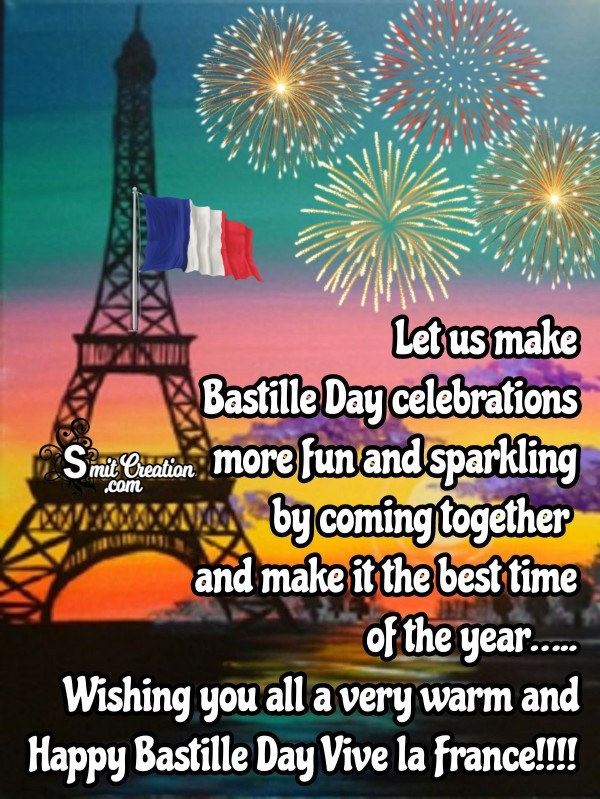 Happy Bastille Day… Vive la France!!!!