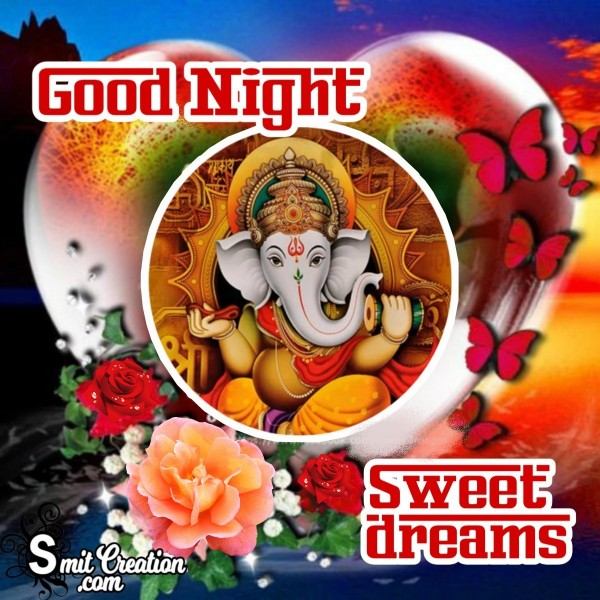 Good Night Sweet Dreams Ganesha Photo