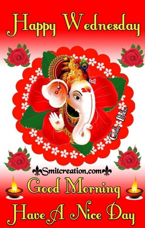 Happy Wednesday Good Morning Ganesha
