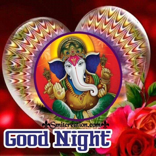 Good Night Ganesha Image
