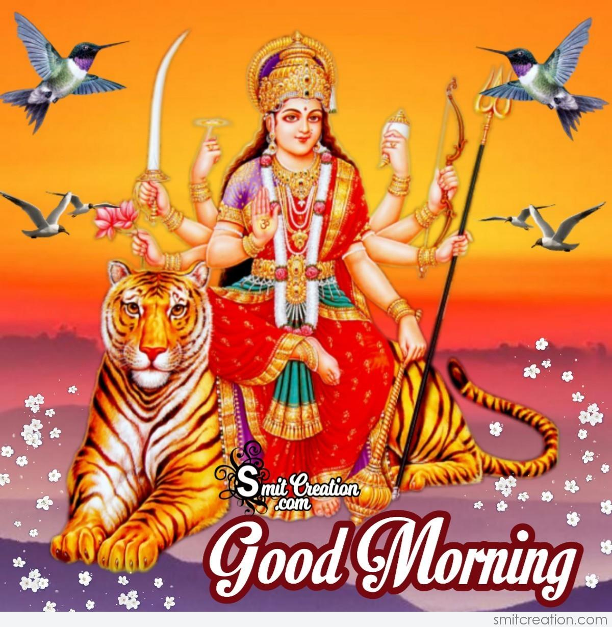Devi Maa Good Morning Pictures and Graphics - SmitCreation.com