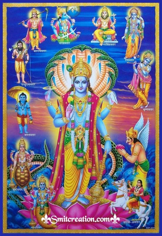 Bhagwan Shri Hari Vishnu Ke 10 Chamatkari Mantra