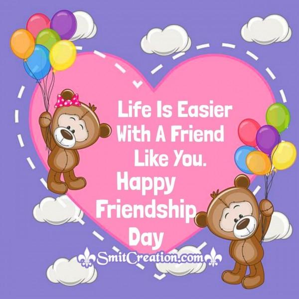 Happy Friendship Day Dear Friend