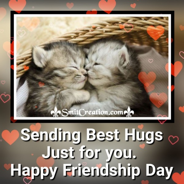 Happy Friendship Day Best Hug For You