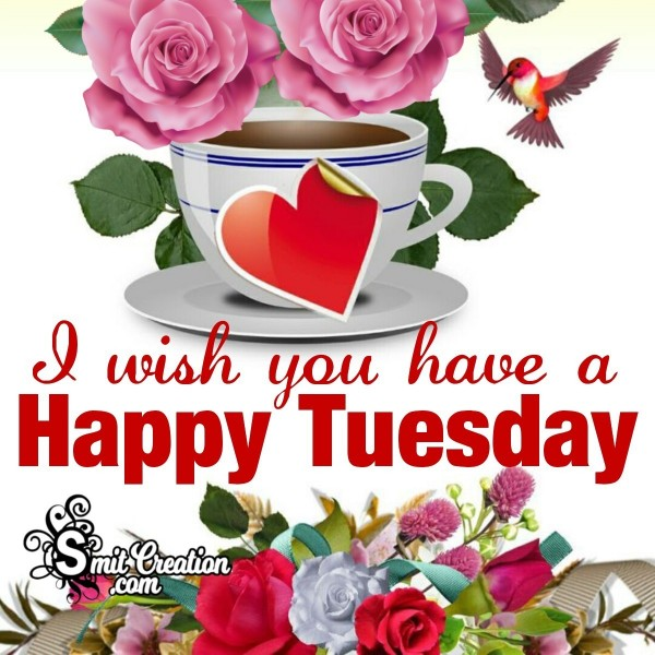 I Wish You Have A Happy Tuesday