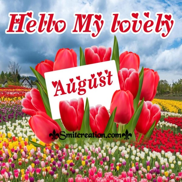 Hello My Lovely August