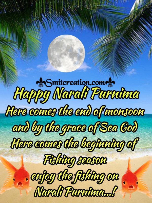 Narali Purnima Wishes, Messages Images