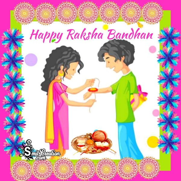 Happy Raksha Bandhan Card
