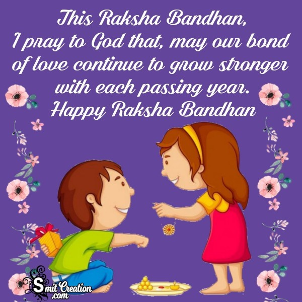 Happy Raksha Bandhan Wish