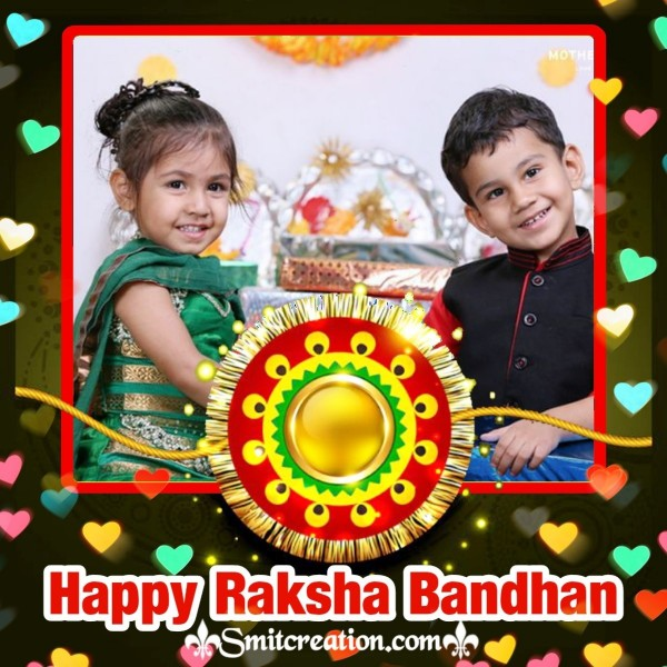 Raksha Bandhan Photo Card