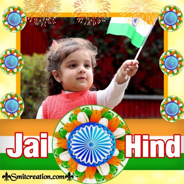 Jai Hind Independence Day Card