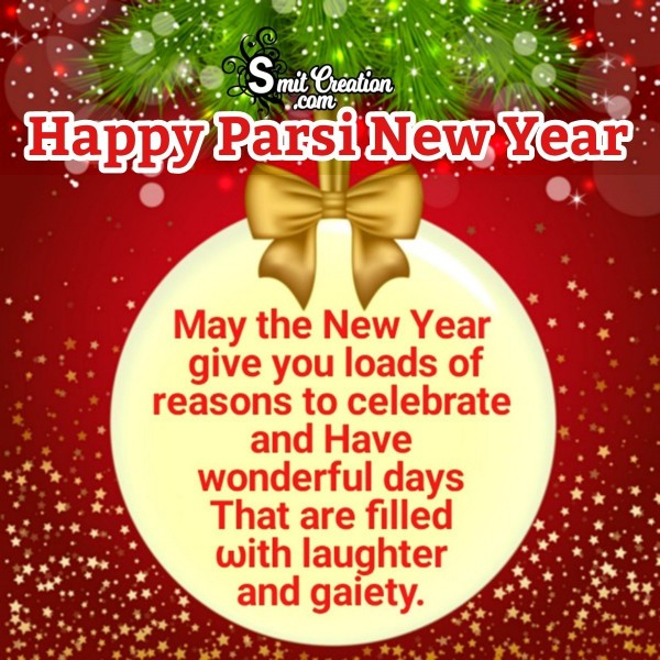Happy Parsi New Year Wish