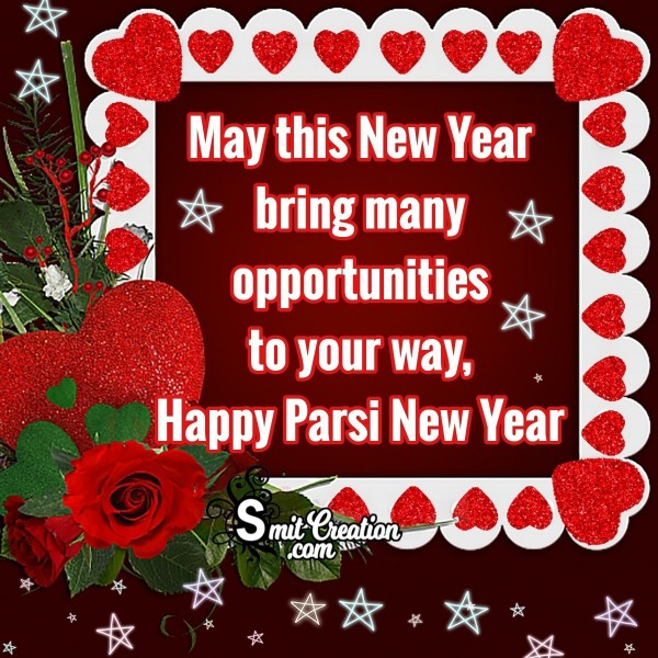 Happy Parsi New Year Wish Image