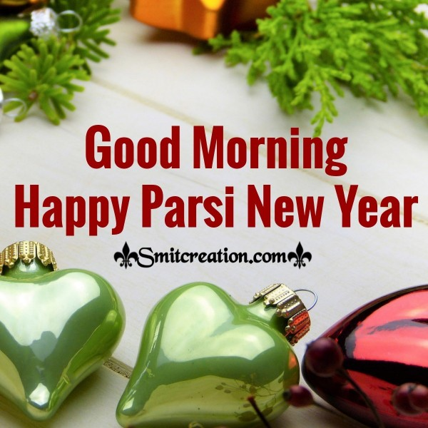Good Morning Parsi New Year Image
