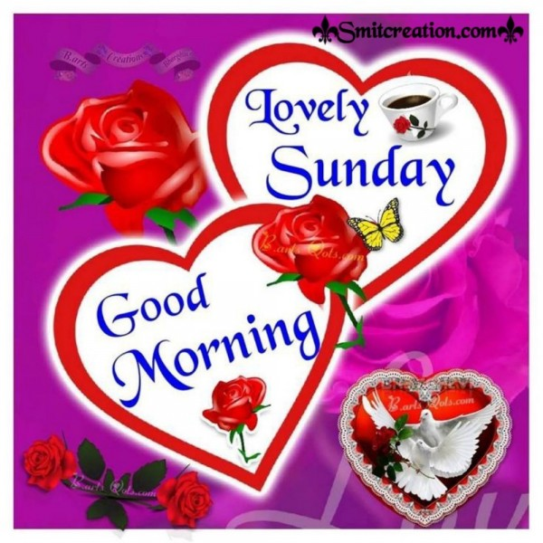 Good Morning Lovely Sunday