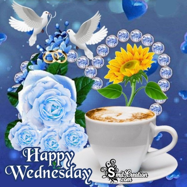 Happy Wednesday Elegant Image
