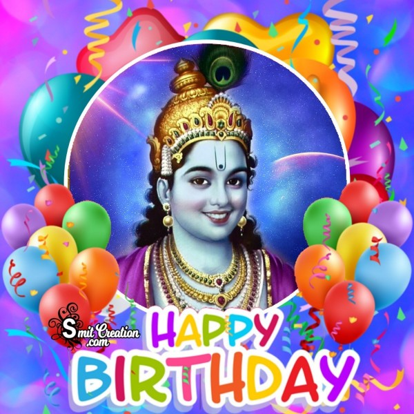 Happy Birthday Krishna Greeting