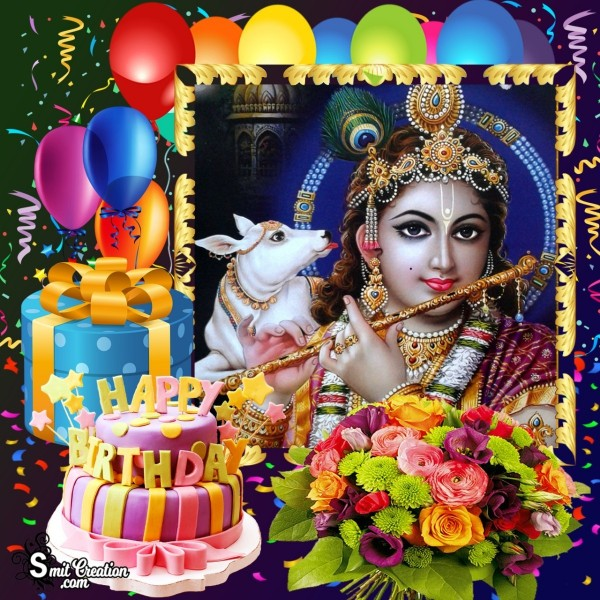 Happy Birthday Krishna Image