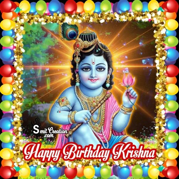 Happy Birthday Krishna Image for Dp