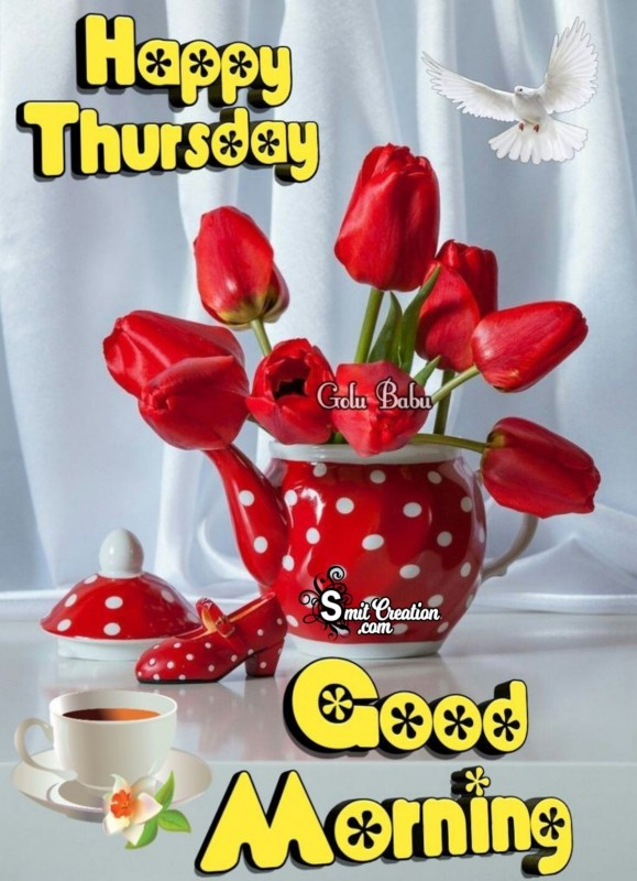 Happy Thursday Good Morning1