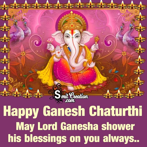 Happy Ganesh Chaturthi Blessings