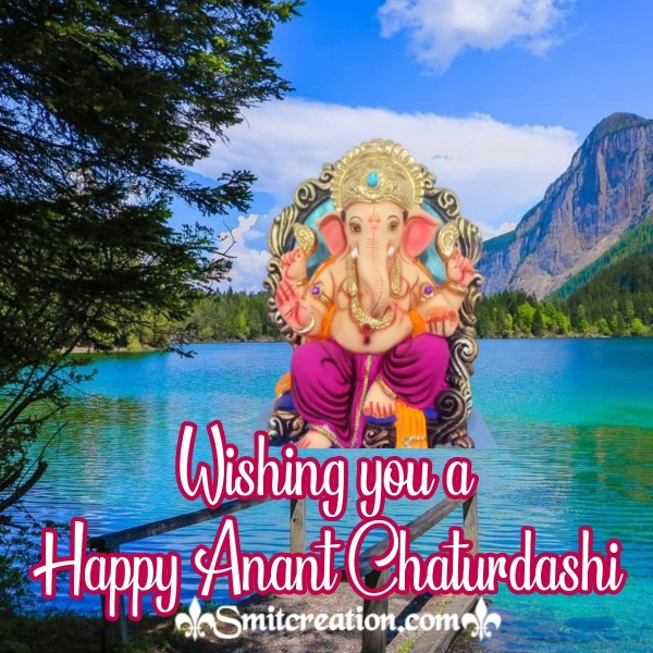 Wishing you a Happy Anant Chaturdashi