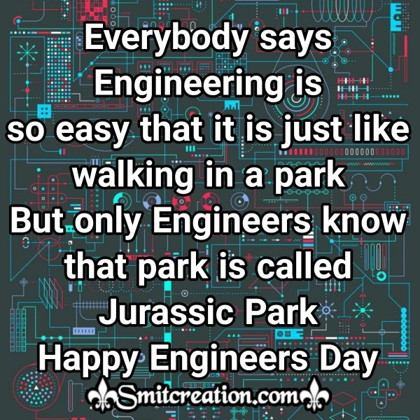 Happy Engineers Day WhatsApp Status