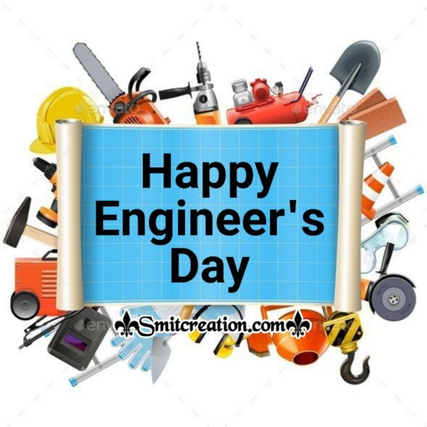 Happy Engineers Day Card