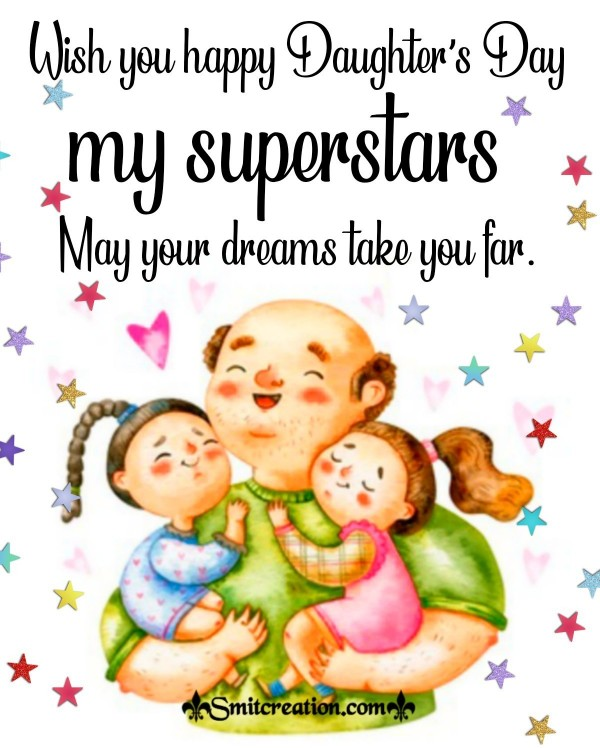 Wish You Happy Daughter's Day