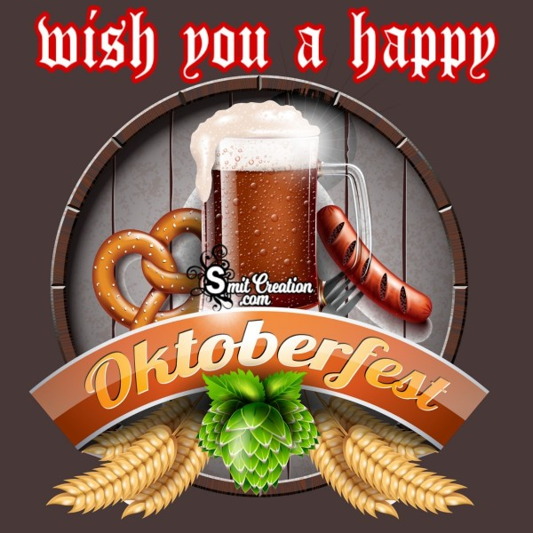 Wish You A Happy Oktoberfest