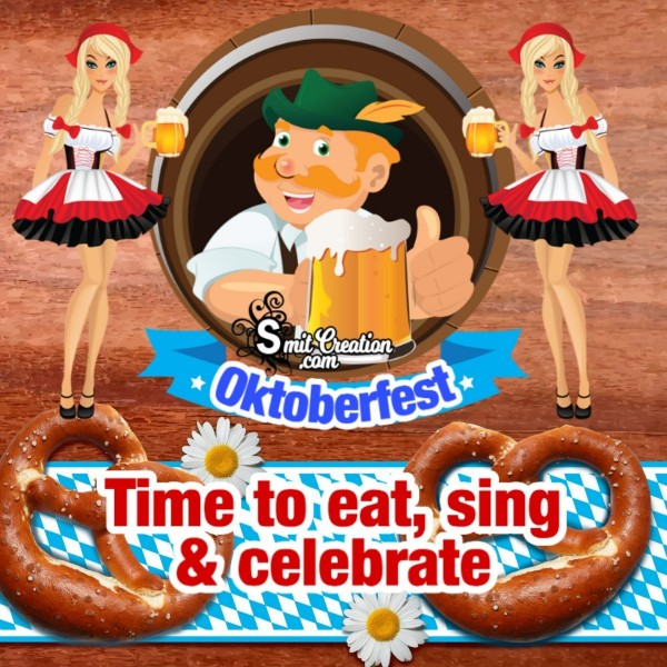 It's Oktoberfest Time To Eat, Sing & Celebrate