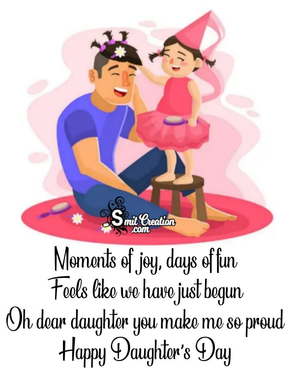 Happy Daughters Day Dear Daughter
