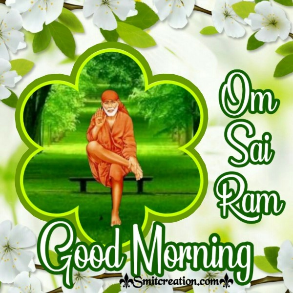 Good Morning Sai Baba Greeting