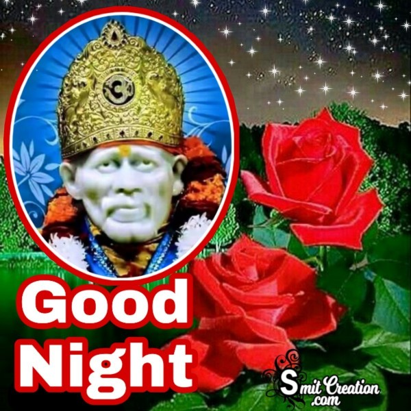 Good Night Sai Baba