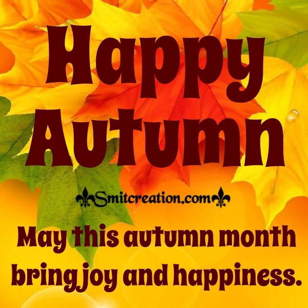 Happy Autumn Wishes