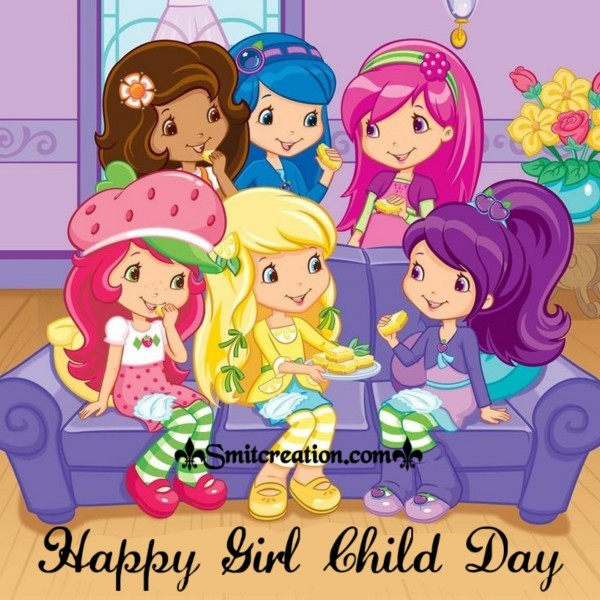 Happy Girl Child Day