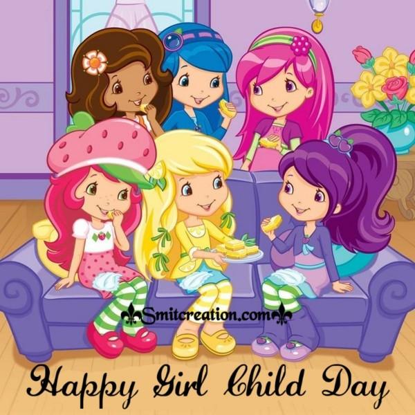 Happy Girl Child Day