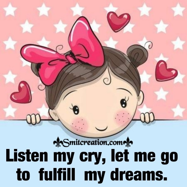 Listen My Cry Save Girl Child