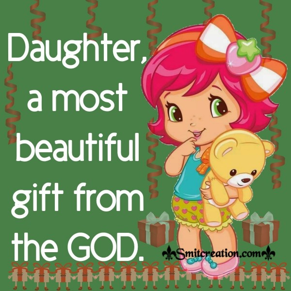 Daughter Gift From The GOD, Save Girl Child