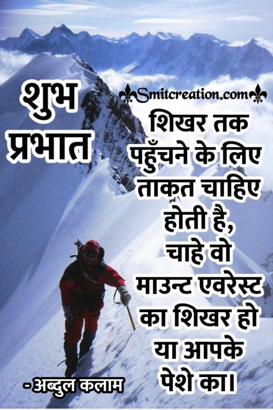 Shubh Prabhat Abdul Kalam Vichar