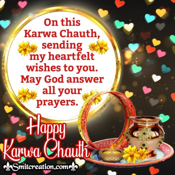 Happy Karwa Chauth Heartfelt Wishes