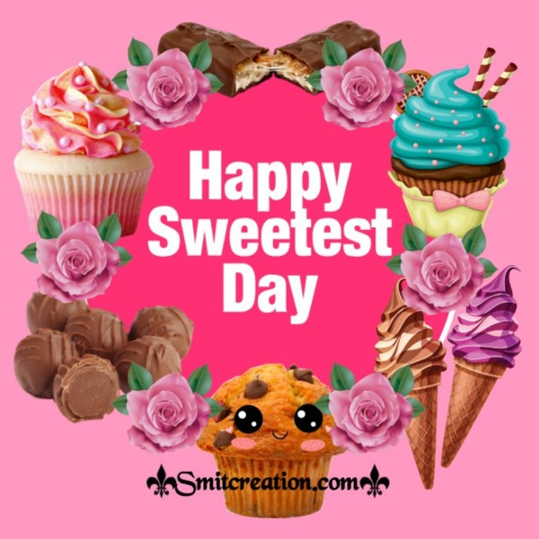 Happy Sweetest Day Cupcakes Card